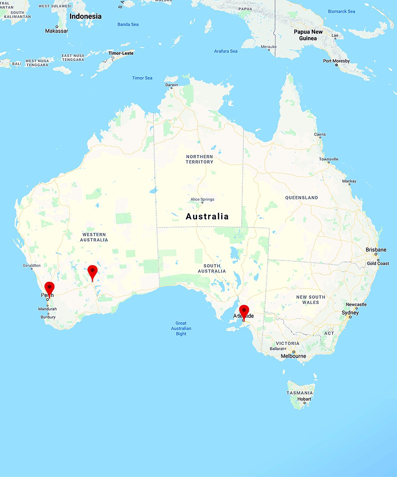 Australia Map Kalgoorlie.Kalgoorlie Statewide Oil